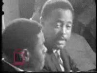 Thumbnail for WSB-TV newsfilm clip of Hosea Williams speaking about the possibility of violence in the Civil Rights movement, 1966 July