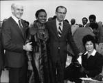 Allan Cranston, Yvonne Brathwaite Burke, and Kenneth Hahn, Los Angeles, ca. 1973