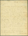 Letter from J. P. Booth to James Dellet in Claiborne, Alabama.