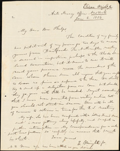 Letter from Elizur Wright, New York, to Amos Augustus Phelps, 1836 Jan[uary] 6