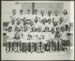 African American youth class photo