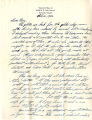 """Vernon E. Ross Jr. letter to Norio Higano which includes a description of the Portland City Council's stance on suppressing the licenses of """"enemy aliens"""" and the status of Japanese-American owned businesses, February 12, 1942"""