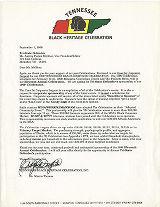 Black Heritage Celebration - Tenn. 1999