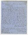 Letter by Silas Omonhundro, Richmond, to Ziba Oakes