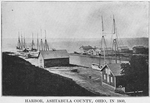 Harbor, Ashtabula County, Ohio, in 1860, a place of deportation for fugitives on Lake Erie
