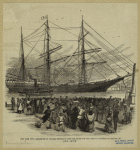 New York City : Departure Of Colored Emigrants From The South For The Liberian Republic, On January 2d