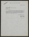 State Supervisor of Elementary Education; Correspondence, 1953