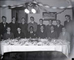 Thumbnail for Ralph Metcalfe and Conrad Jennings at banquet, 1934?