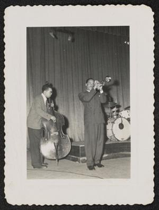 Buck Clayton and bassist