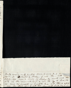Partial letter from Mary Weston to Deborah Weston, [not after 19 July 1836]