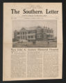 "State records. Alabama: Tuskegee Institute, """"The Southern Letter,"""" 1913, 1921. (Box 61, Folder 11)"