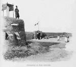 Entrance to Fort Bonnier