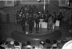Gladys Knight and the Pips performing, Los Angeles, 1972