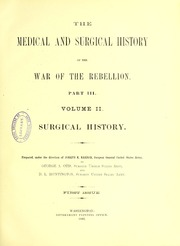 The medical and surgical history of the War of the Rebellion, (1861-65), 4