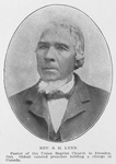 Rev. S. H. Lynn; Pastor of the Union Baptist Church in Dresden, Ont.; Oldest colored preacher holding a charge in Canada