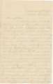 "Letter from James A. Hall at Missionary Ridge, Tennessee, to his sister, Laura (""Lollie""), in Alabama."
