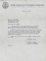 Letter, 1962 Jan. 11, (New York, N.Y.), Gloster B. Current, to Joseph A. De Laine, Sr., (Brooklyn, N.Y.)