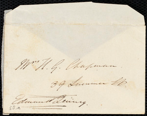 Letter from Edmund Quincy, Dedham, [Mass.], to Maria Weston Chapman, Aug. 2, 1842(?)