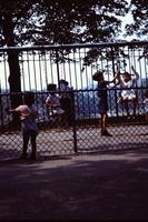 Playground fenceline