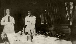 03. 1909, Roy McCurdy Working as a Cook on a Great Lakes Ore Freighter