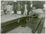 Shooting pool on Saturday afternoon, Clarksdale, Mississippi Delta November 1939