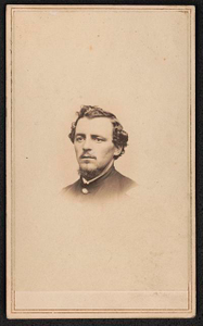 [Captain Charles D. Grannis of Co. A, B, and H, 44th New York Infantry Regiment, in uniform]