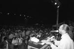 Stevie Wonder entertains, Los Angeles, 1989