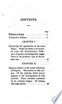 An enquiry concerning the intellectual and moral faculties, and literature of Negroes ; followed with an account of the life and works of fifteen Negroes & mulattoes, distinguished in science, literature and the arts De la litterature des Nègres; ou, Recherches sur leurs facultés intellectuelles English