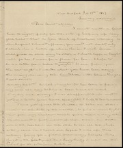 Letter to] Dear Aunt Mary [manuscript