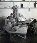 Harlem Community Art Center: students in sculpture class, 290 Lenox Avenue