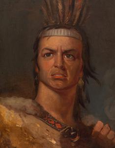 Edwin Forrest in the Role of Metamora