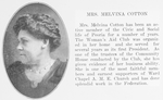 Mrs. Melvina Cotton