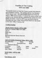 Chestnut Grove Free Will Baptist: Coaling families list