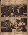 Photomontage of cotton plantation workers. Nashville Tennessean, 1928 October 28.