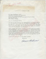 "Eleanor Goodman to ""Dear Mr. Meredith and Family"" (10 October 1962)"
