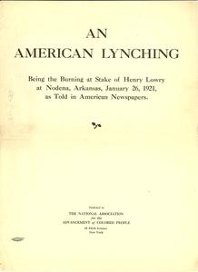 An American lynching