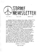 Strike Papers: New Hampshire: Dartmouth College