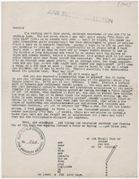 Letter : to Jean Toomer