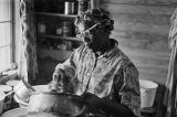 Mertis Rubin's mother in her kitchen in Mississippi.