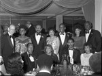 Tom and Ethel Bradley at a 100 Black Men event, Los Angeles, 1983