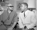 Maulana Karenga and Bill Greene