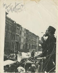 Amiri Baraka at Harlem Rally