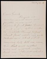 Correspondence between Sartur Andrzejewski and Langston Hughes