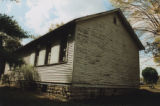 Durham's Chapel School: side view of school
