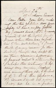 Letter from Maria Weston Chapman, 119 Madison Avenue, [New York], to Deborah Weston, April 24th, [186?]