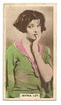 Thumbnail for Myrna Loy cinema card