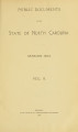 Public documents of the State of North Carolina [1903 v.2]