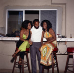 Judy Pace Flood and Berry Gordy and at his party, Los Angeles