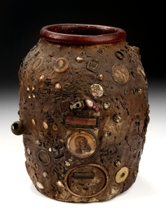 Memory Vessel with Commemorative Objects