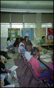 Students Listening in Gates Elementary Classroom San Antonio Chapter of Links Records
